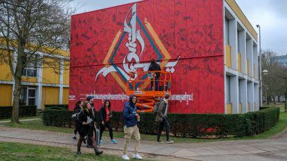 Opvallend kunstwerk siert VUB-campus