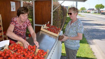 Daar is de lente, daar zijn de aardbeien