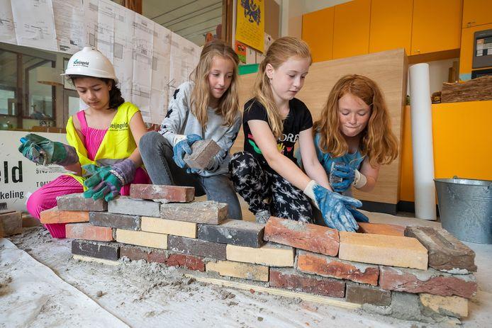 Op de Teresiaschool in Waalwijk werd vorig jaar al hard gewerkt.