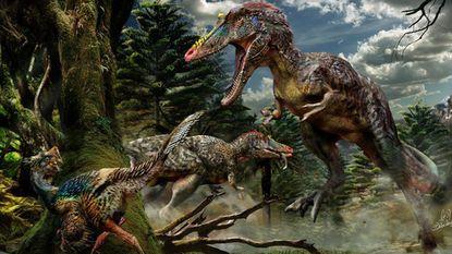 Tyrannosaurus met erg lange neus heet 'Pinocchio Rex'