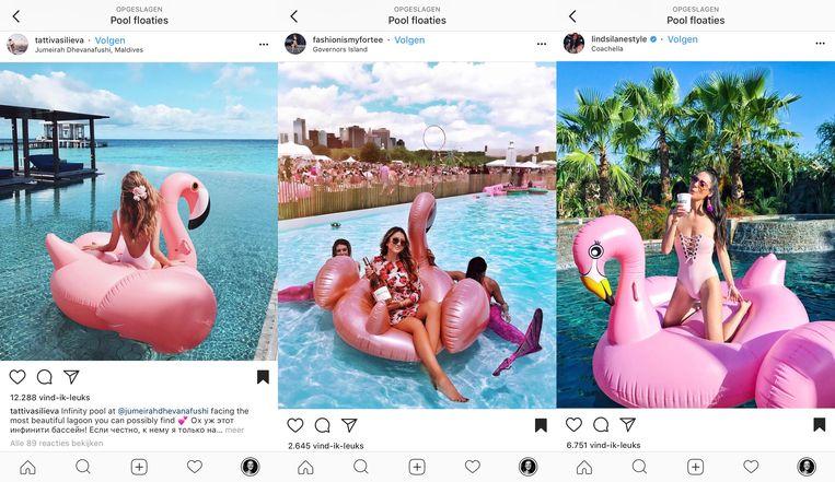 Floaties Beeld Instagram