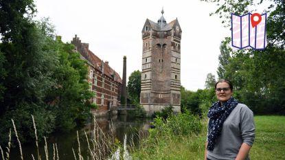"""De warmste vakantieplek van Vlaanderen, met Catherine Ackermans van Donjon Ter Heyden: """"Het is een van de indrukwekkendste gebouwen uit de streek"""""""