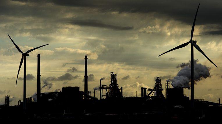 Ook fabrieken dragen bij aan de opwarming van de aarde. Beeld anp