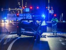 Automobilist gewond bij inhaalactie op N201