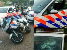 Politie in Wijk op Facebook: Fors geweld  gaat niet in de koude kleren zitten