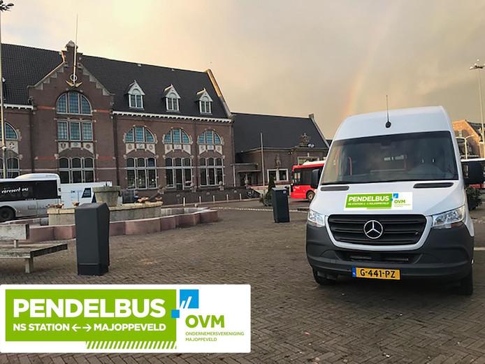 Het pendelbusje moet zorgen voor een betere bereikbaarheid van bedrijventerrein Majoppeveld in Roosendaal
