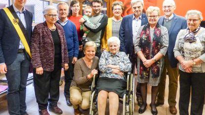 Irma viert 101ste verjaardag in WZC Sint-Petrus in Kruishoutem