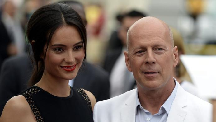 Bruce Willis (59) en Emma Heming (36) zijn dolgelukkig