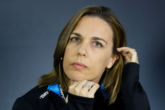 Claire Williams.
