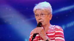 Geweldig: rappende oma verbaast in 'Belgium's Got Talent'