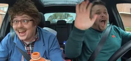 Tilburgse look-a-like van James Corden maakt briljante carnavalsparodie Carpool Carnaoke