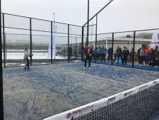 Padelbanen in Vathorst open