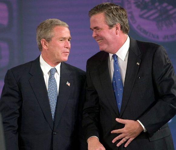 George en Jeb Bush.