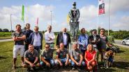 Nieuw kunstwerk in Slijpe zet geschiedenis van Tempeliers in de kijker