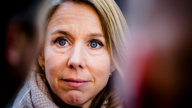 Staatssecretaris Stientje van Veldhoven van Infrastructuur en Waterstaat (D66) Beeld ANP