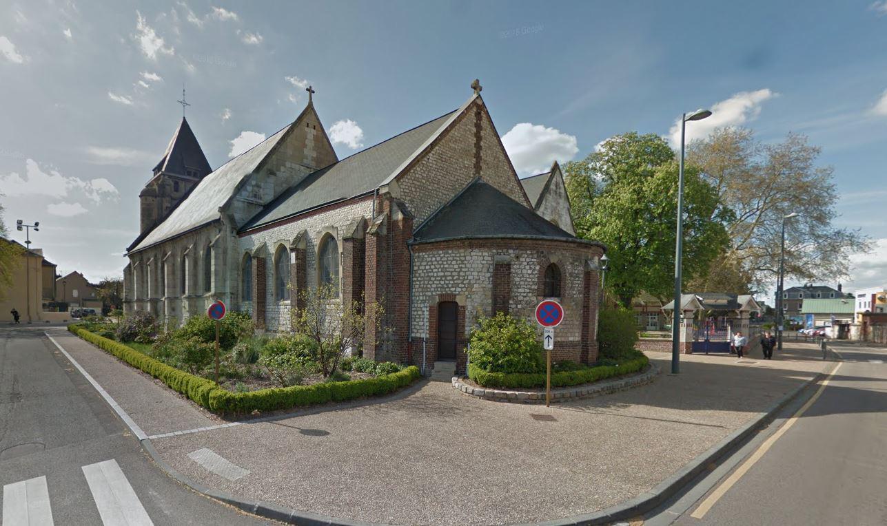Is Claimt Bloedige Gijzeling In Franse Kerk Foto