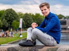 Pieter (18) was afgelopen jaar voorzitter van LAKS én haalde zijn vwo-diploma: 'Ik bedreef topsport'