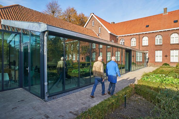 Het Museum voor Religieuze kunst in Uden is vorig jaar ingrijpend verbouwd, onder andere deze nieuwe erker is er gekomen.