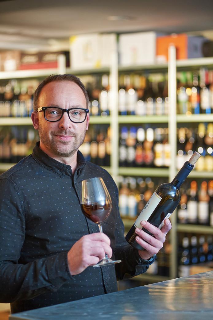 Vinoloog van het jaar Arjen van Sluijs.