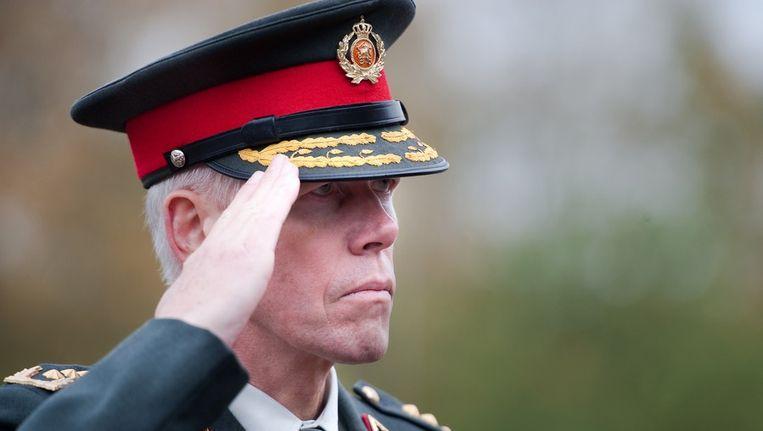 Oud-commandant van de landmacht Rob Bertholee wordt het nieuwe hoofd van de Algemene Inlichtingen- en Veiligheidsdienst (AIVD). Beeld anp