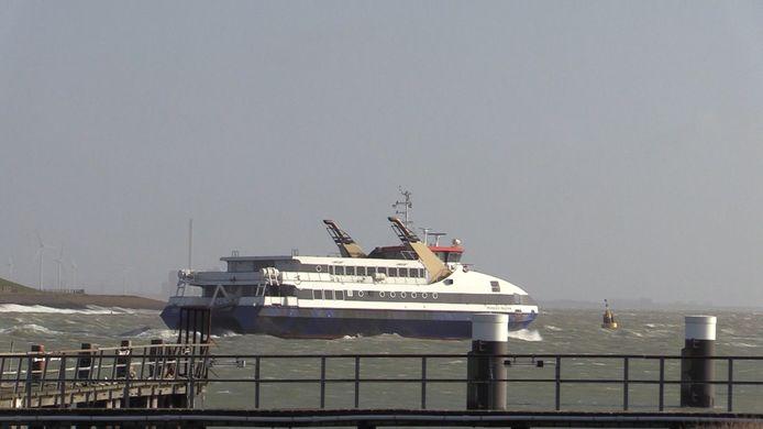 Mondkapjes zijn vanaf 1 juni ook op de ferry verplicht.