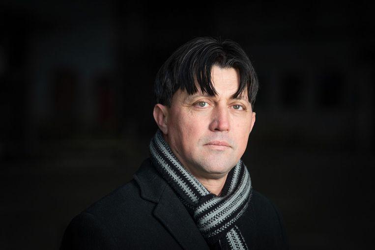 Schrijver Hasan Hasanovic. Beeld Kristian Skeie
