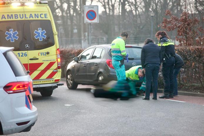 Fietsster gewond na aanrijding in Rijen