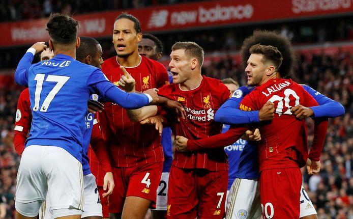 Na afloop liepen, vooral bij Leicester City, de gemoederen hoog op.