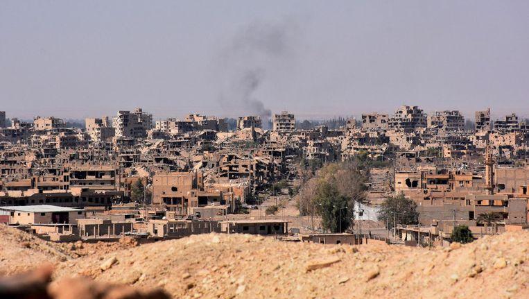 Deir al-Zor in november vorig jaar. Beeld null