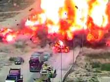 Egyptische held rijdt zelfmoordterroristen plat met tank