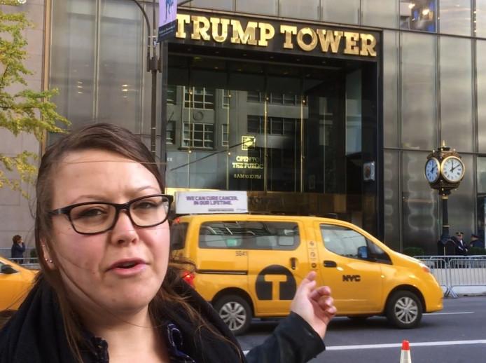 Ilse voor de Trump Tower.