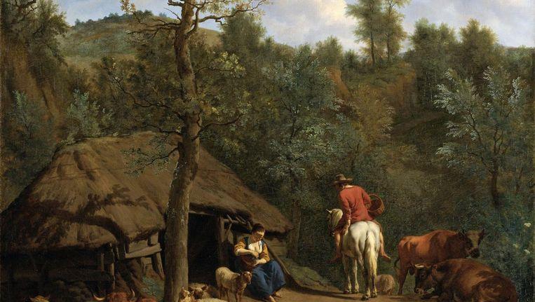 The Hut 1671. Het Rijksmuseum. Beeld The Hut 1671. Het Rijksmuseum.