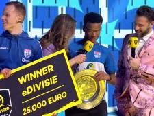 PEC Zwolle wint eDivisie en 25.000 euro: 'Ik ga mijn rijbewijs halen en op vakantie'
