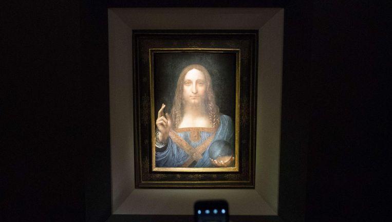 Het was voor zover bekend het laatste schilderij van de Italiaanse meester dat nog in particuliere handen was Beeld ANP