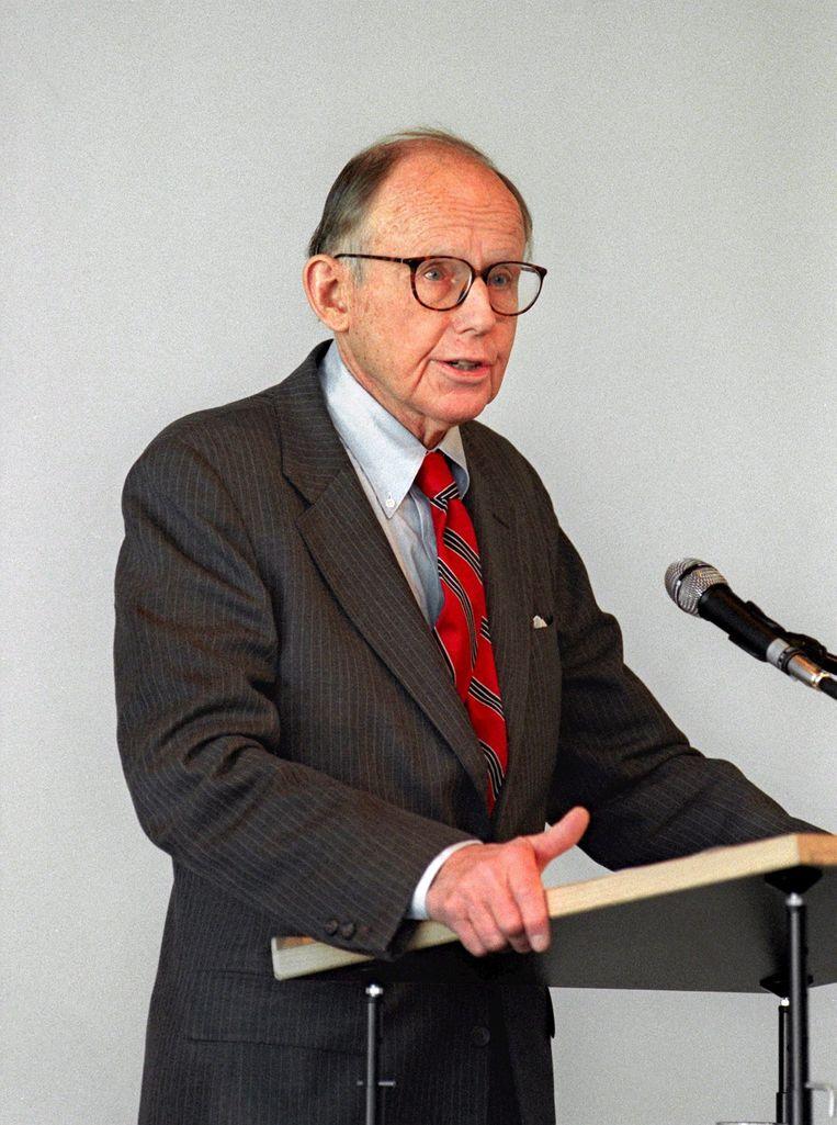 Samuel Huntington overleed op 81-jarige leeftijd. Beeld EPA