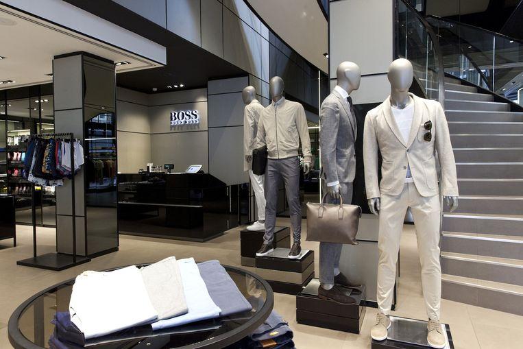 Hugo Boss winkel in de Beethovenstraat Beeld Roy del Vecchio