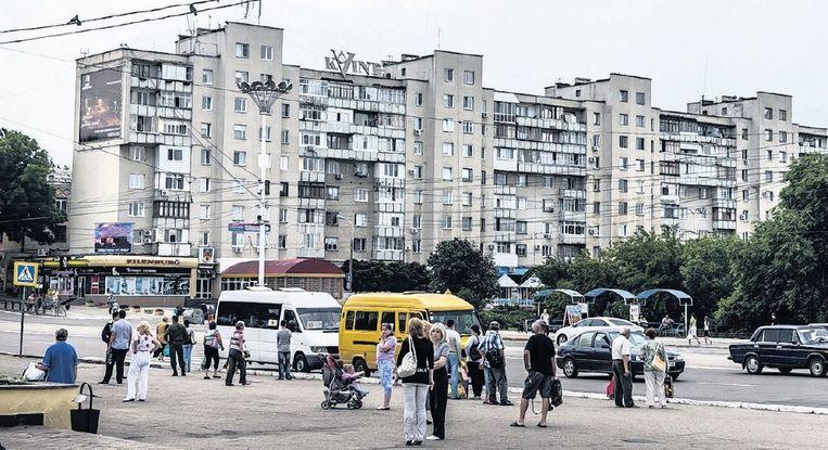 Triaspol oogt als iedere Russische stad, maar dan zonder westerse reclameborden. Beeld anp