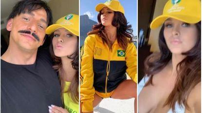 Ditmaal kon ze niet halfnaakt het veld op: 'streakster' tijdens finale Copa América ontmaskerd en opgepakt