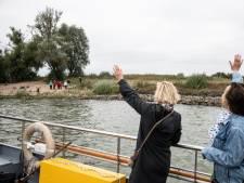 Enthousiasme tijdens proefvaart pontje Bemmel-Ooij