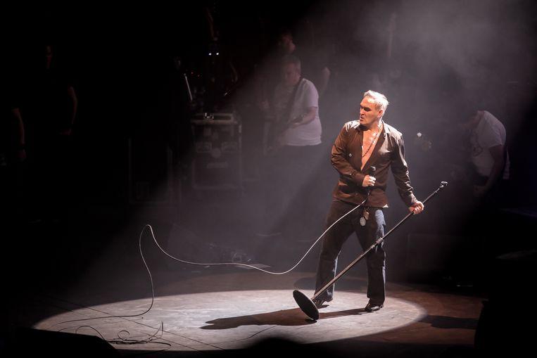 Morrissey in de Royal Albert Hall in Londen in 2018. Beeld  Getty Images