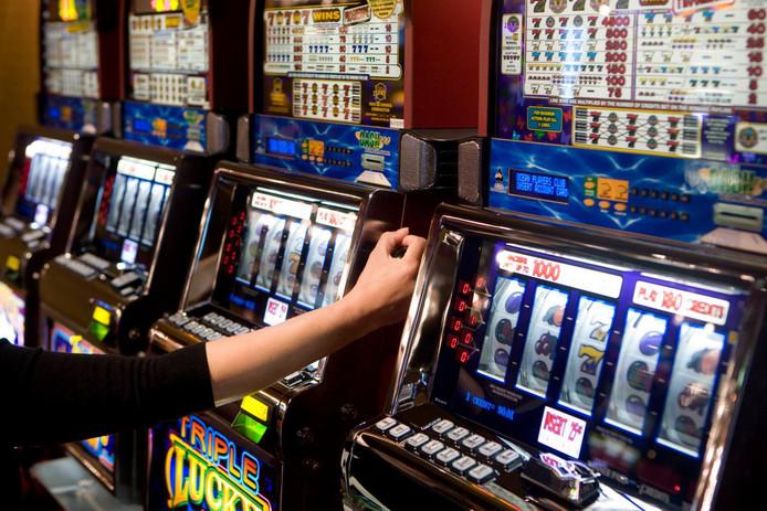 Speelautomaten ter illustratie.