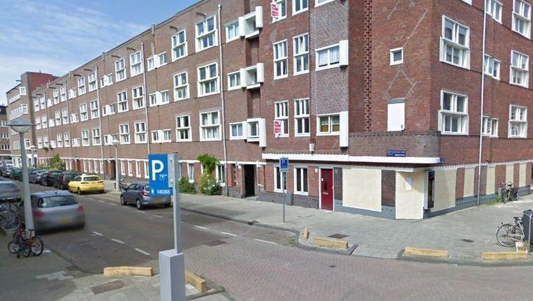 De locatie van het café op de hoek van Bartholomeus Diazstraat en de Marco Polostraat. Beeld Streetview