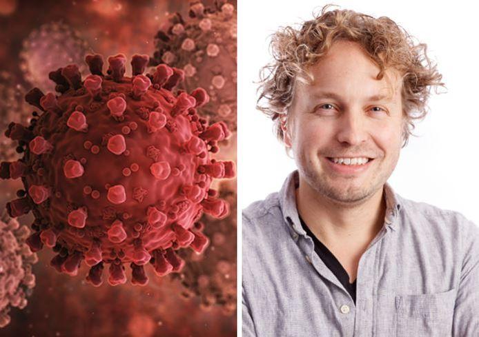 Het denkbeeld dat het coronavirus een straf is, beperkt zich niet tot religieuzen, zag columnist Niels Herijgens