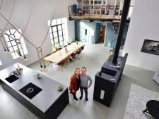 Huiselijkheid in oude touwfabriek