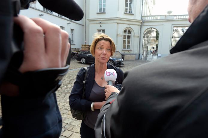 Estelle Ceulemans, la secrétaire générale de la FGTB de Bruxelles