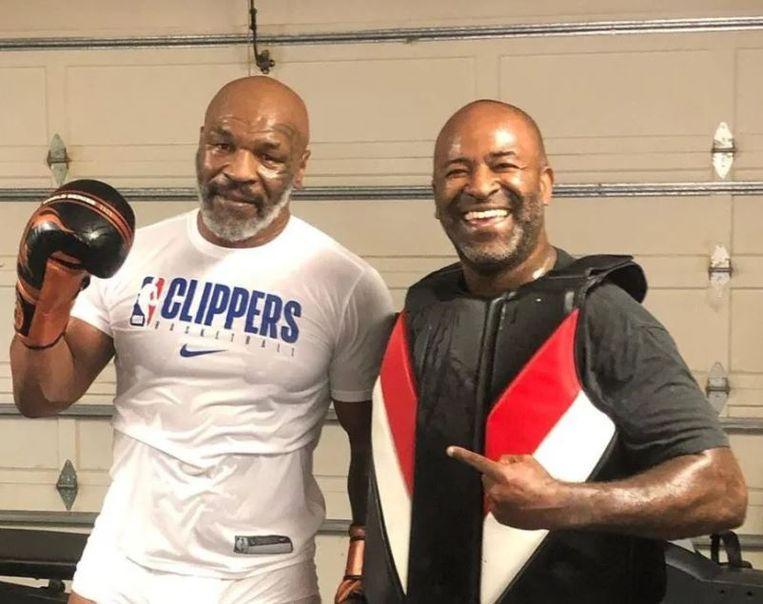 MMA-trainer Rafael Cordeiro met Mike Tyson.