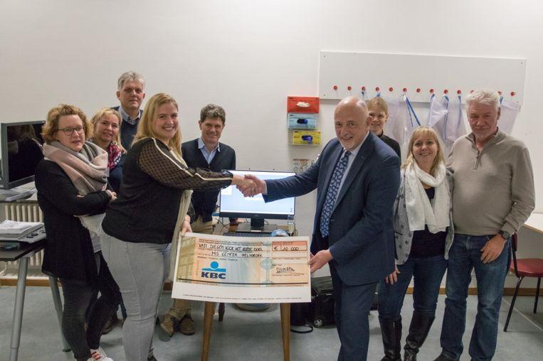 De organisatoren van Diegem Voor Het Goede Doel zamelden maar liefst 10.000 euro in met hun liefdadigheidsevenement.