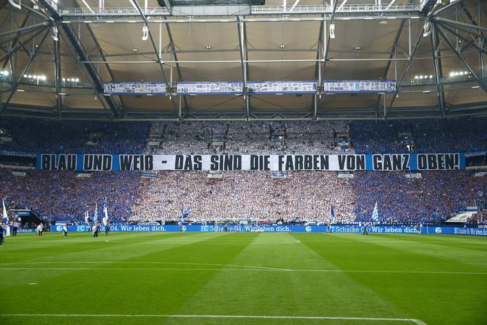 De Veltins Arena, het stadion van Schalke 04.