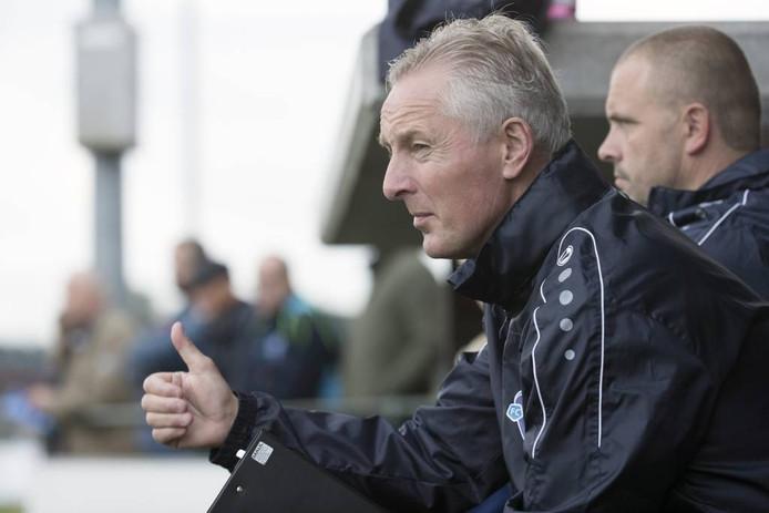 FC Trias-trainer Jos Heutinck. Foto: Theo Kock