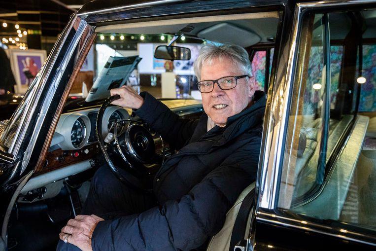 """""""Ik ben er kapot van dat ik mijn zwarte Mercedes 600 Pullman moet verkopen"""", zucht Frans Billen."""